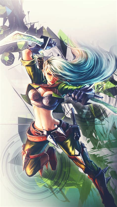 Wallpaper Iphone 5 League Of Legends | katarina iphone 5 background league of legends by