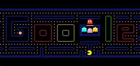 doodle pacman play pacman