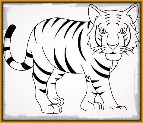imagenes para pintar tigre imagenes de tigres de bengala para colorear infantiles