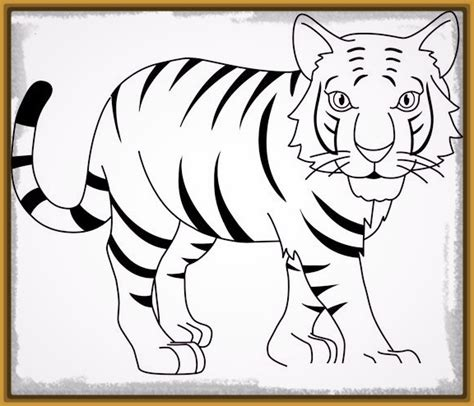 imagenes infantiles tigres imagenes de tigres de bengala para colorear infantiles
