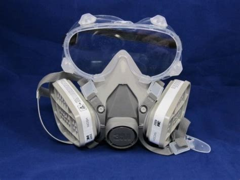 Sale Goggle Mask Gogle Mask Masker Putih Kaca Pelangi gas mask and goggles chlorine dioxide gas mask and goggles 1 3m 6000 series half mask
