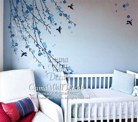 baby boy tree wall decal nursery wall by cuma wall decals