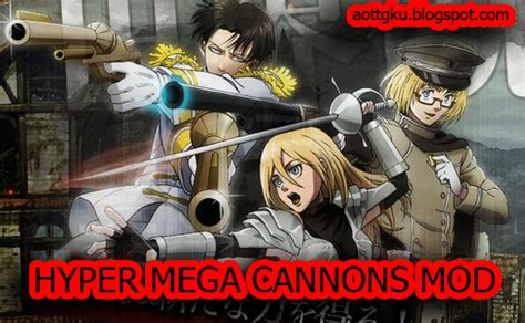 download mod game attack on titan download mod hypermegacannon aottg attack on titan
