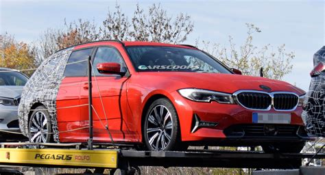 2019 Bmw Touring by 2019 Bmw 3 Series Touring Sheds More Camo Looks Like A