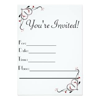 you re awesome card templates awesome magnificent you re invited cards black white color
