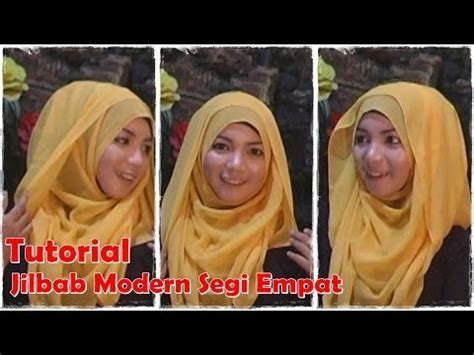 tutorial hijab segi empat ala laudya hd hijab tutorial paris segi empat terbaru 2014 video