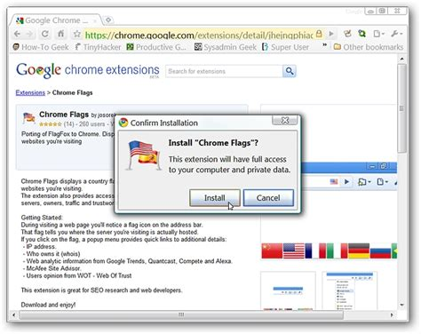 chrome flags find a website s actual location with chrome flags