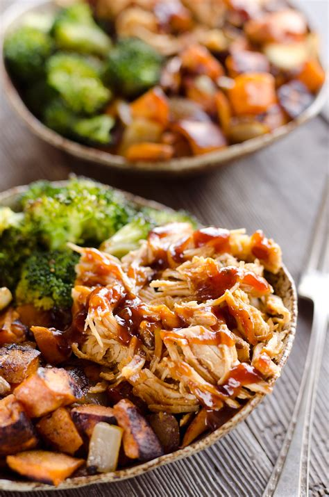 Easy Kitchen Remodel Ideas by Bbq Chicken Amp Roasted Sweet Potato Bowls Easy Meal Prep