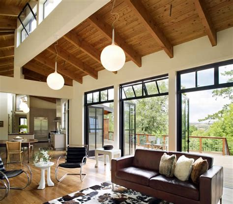 Ranch Style Home Interiors by Gustave Carlson Design Modern Barn Interior
