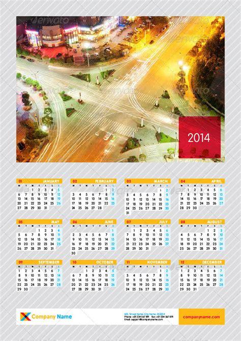 calendar poster template 20 excellent printing calendar templates