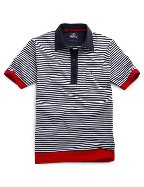 polo stripes navy breton stripe polo shirt stylin