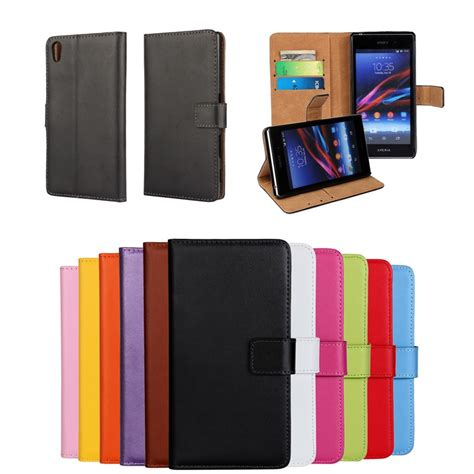 Sony Xperia Z3 Mini Z5 Compact Casing Leather Flip Cover Wallet cover for sony xperia z ultra z c6603 z1 z2 z3 z4 z5 compact premium wallet leather flip