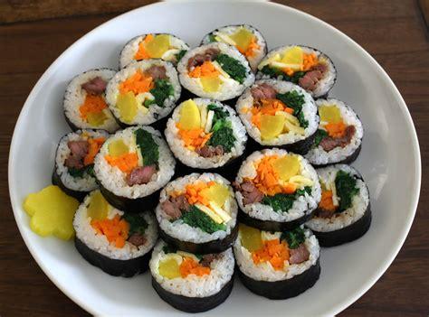 gimbap recipe maangchi com