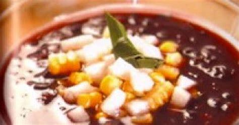 cara membuat bubur kacang hijau bandung cara membuat bubur ketan hitam spesial resep masakan