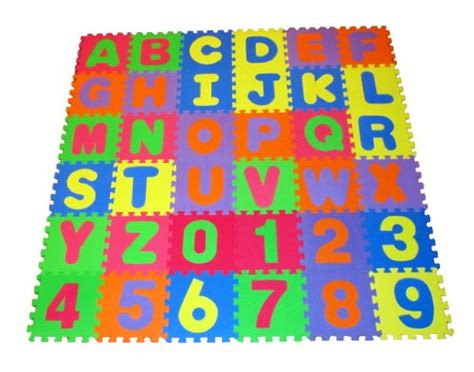 Foam Puzzle Floor Mat by Alphabet And Number Floor Puzzle Alphabet And Number