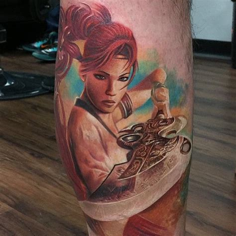 oriental realistic tattoo asian fighter realistic tattoo rember orellana best