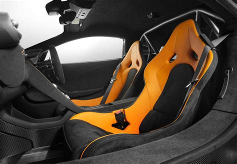 orange mclaren interior mclaren 675lt