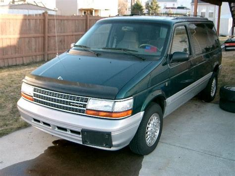 old car manuals online 1994 plymouth voyager electronic throttle control ohmdr2 1994 plymouth voyager specs photos modification info at cardomain