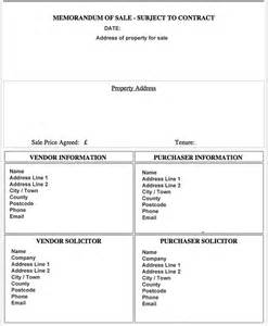 memo template for sales format of sales memo template