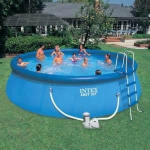 Backyard Blow Up Pools the intex inflatable pool backyard summer fun bounce a