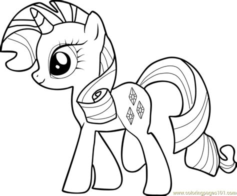 Filly Rarity Coloring Pages Coloring Coloring Pages Rarity Coloring Pages
