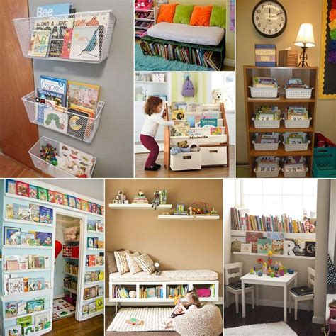 kids book storage 10 cool and creative kids book storage ideas