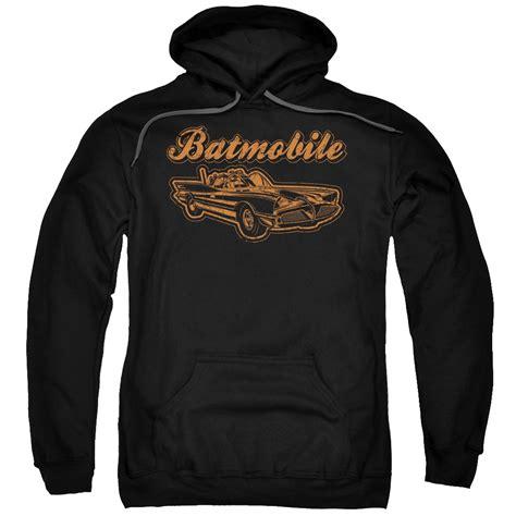 batmobile hoodie for adults