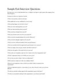 Exit Questions Template by Best Photos Of Questionnaire Template Sle