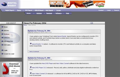 digital digest latest divx xvid dvd blu ray news digital digest s 9th birthday news digital digest