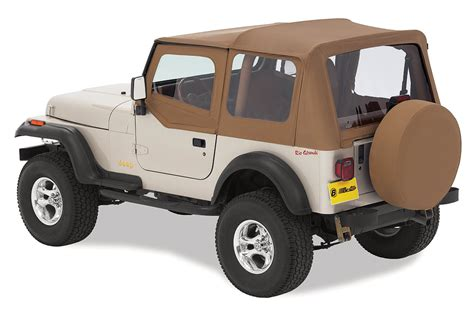 Jeep Wrangler Soft Tops Jeep Wrangler Sailcloth Soft Top