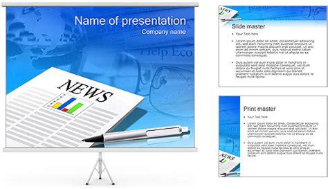 powerpoint layout zeitung diagramm in der zeitung powerpoint vorlagen und