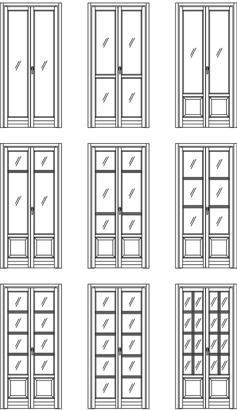 modelli porte interne legno modelli porte finestre in legno