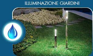illuminazione giardini privati goccioline irrigazioni
