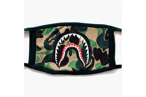 Bape A Bathing Ape Mask bape shark mask hypebeast