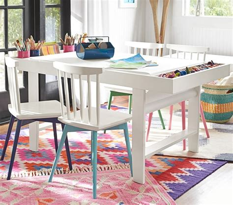kids art table diy geometric kids art table september fab furniture