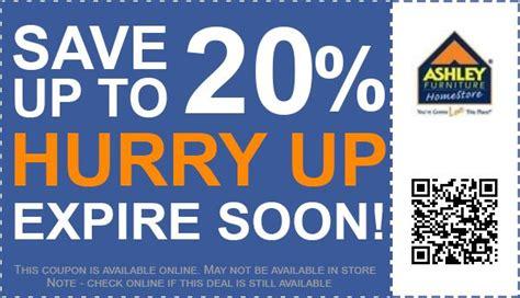 ashley homestore coupon promo code