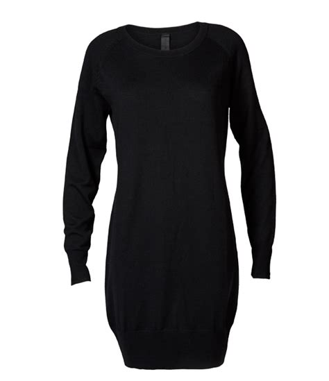 Dress Joyfull joyfull black wool dress 100 wool
