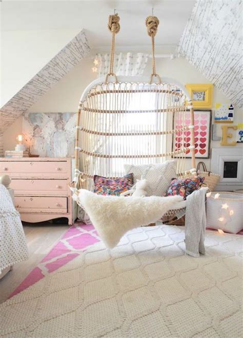 girly bedrooms too cute girls teens bedrooms pinterest 25 best ideas about indoor hanging chairs on pinterest