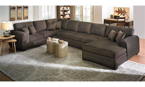 Large Sectional With Chaise Lounge Upholstered Sectional Sofa With Chaise The Dump