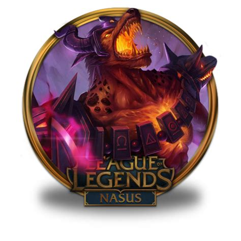 gold wallpaper lol nasus icon league of legends gold border iconset fazie69