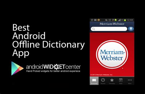 android dictionary best android offline dictionary aw center