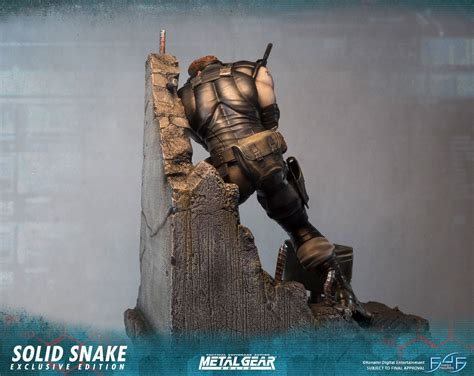 First4figures Mgs Solid Snake Statue Forum Swisscollectors Consulter Le Sujet Solid Snake