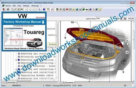free download parts manuals 2011 volkswagen touareg seat position control vw touareg workshop repair manual
