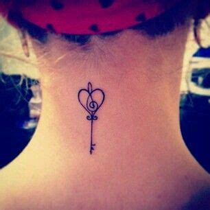 cute first tattoos small key would make a