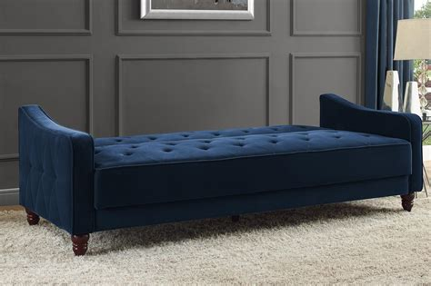 novogratz vintage tufted sofa sleeper dhp furniture novogratz vintage tufted sofa sleeper