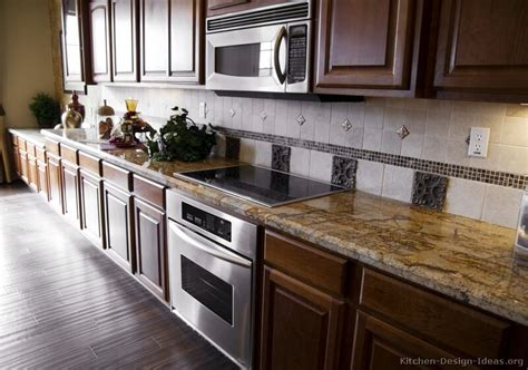 backsplash goes black cabinets home design and decor reviews