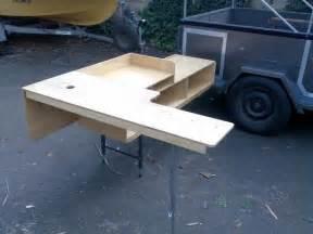 Folding Bench Legs Dirks Diy Camper Trailer