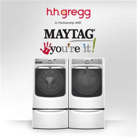 How To Use Hhgregg Gift Card Online - win a new washer dryer with the h h gregg maytag you re it sweepstakes a