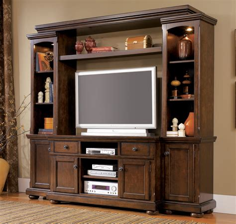 entertainment room furniture cherry wood entertainment center homesfeed