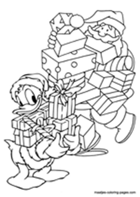santa duck coloring page unique cartoon christmas coloring pages for girls and boys